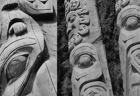 Native presence: Local carver brings Haida art back to life