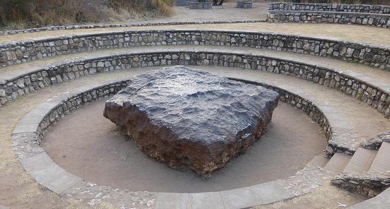 Hoba meteorite in Namibia