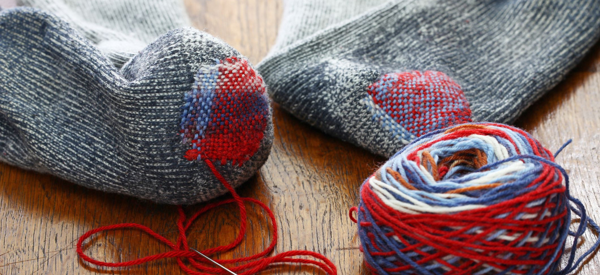 Darning Socks workshop