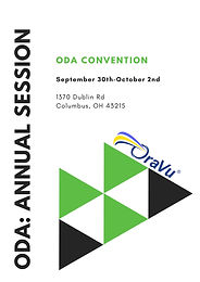 ODA: OHIO CONVENTION SEPTEMBER 30TH -OCTOBER 2ND