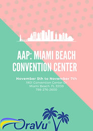 AAP: MIAMI BEACH CONVENTION CENTER NOVEMBER 5TH TO THE 7TH