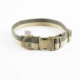 Cotton Dog Collar Manufacturer - Olive.jpg