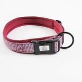 Urban Neoprene Padded Dog Collar Manufacturer - Burgundy.jpg
