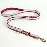 Soft Foamed Reflective Multifunctional Training Euro Dog Leash Manufacturer - Red.jpg