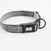 Urban Neoprene Padded Dog Collar Manufacturer - Silver.jpg