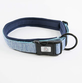 Urban Neoprene Padded Dog Collar Manufacturer - Navy.jpg