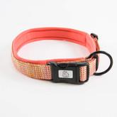 Urban Neoprene Padded Dog Collar Manufacturer - Coral.jpg