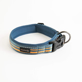 Reflective Neoprene Padded Dog Collar Manufacturer - Blue.jpg