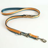 Soft Foamed Reflective Multifunctional Training Euro Dog Leash Manufacturer - Blue.jpg