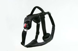 Heavy Duty Patented Metal Buckle Dog Harness Manufacturer - Black
