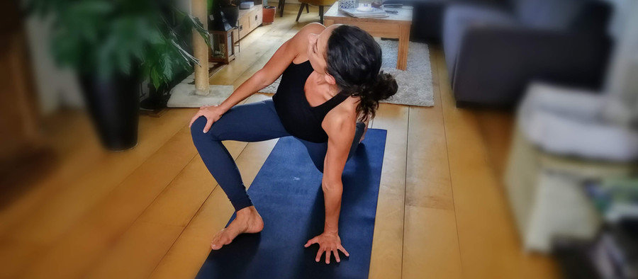 Yoga at home - making it a habit