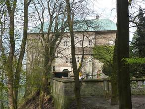 Tο κάστρο Houska στη Τσεχία.