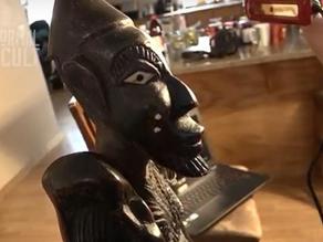 3D σάρωση ενός καταραμένου αγαλματιδίου βουντού  με παράξενα και απόκοσμα αποτελέσματα