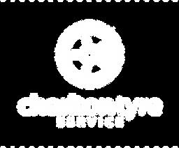 Charlton Tyres Logo WHITE No background
