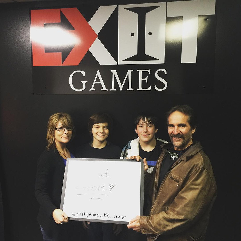 Exit Games KC - An Escape Game Experience | Group 5