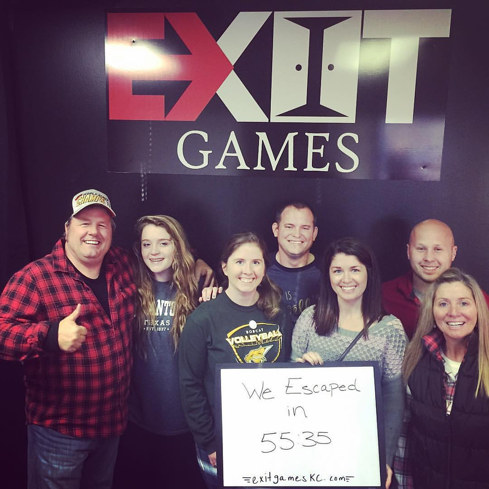 Exit Games KC - An Escape Game Experience | Group 3