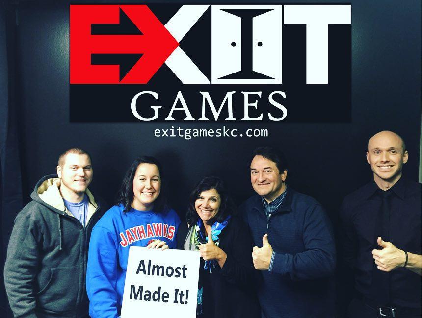 Exit Games KC Test Group 2
