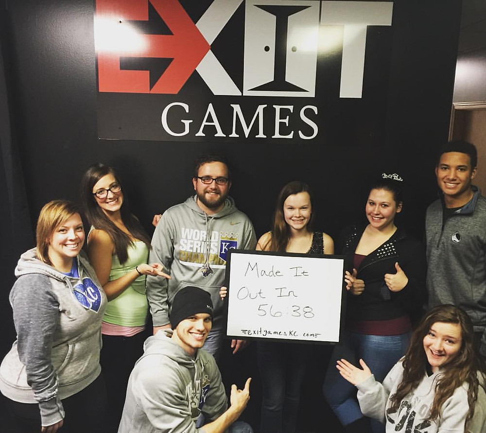 Exit Games KC - An Escape Game Experience | Group 7