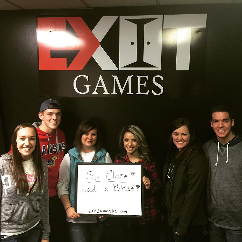 Exit Games KC - An Escape Game Experience | Group 4
