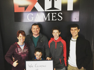 Grand Opening Day 1 - January 1st | Exit Games KC - An Escape Room Experience