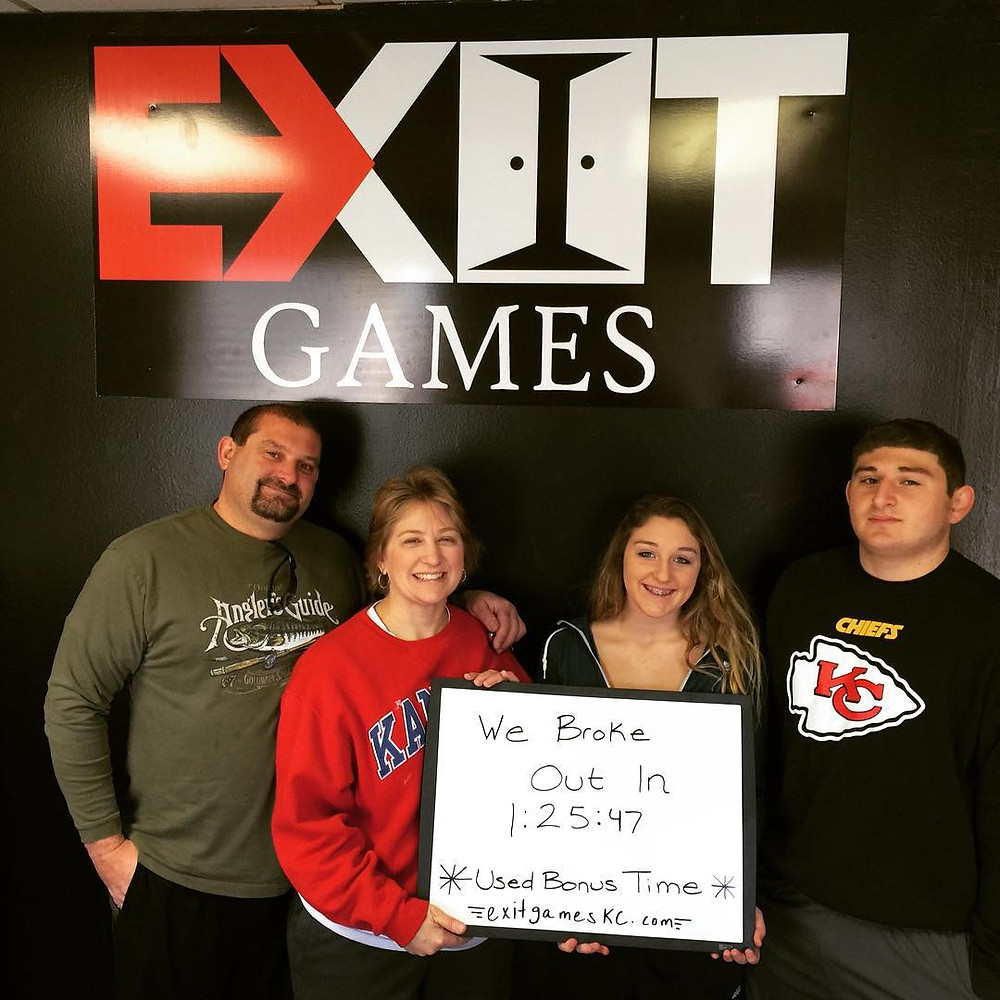 Exit Games KC - An Escape Game Experience | Group 1