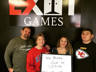 Grand Opening Day 2 - January 2nd | Exit Games KC - An Escape Room Experience