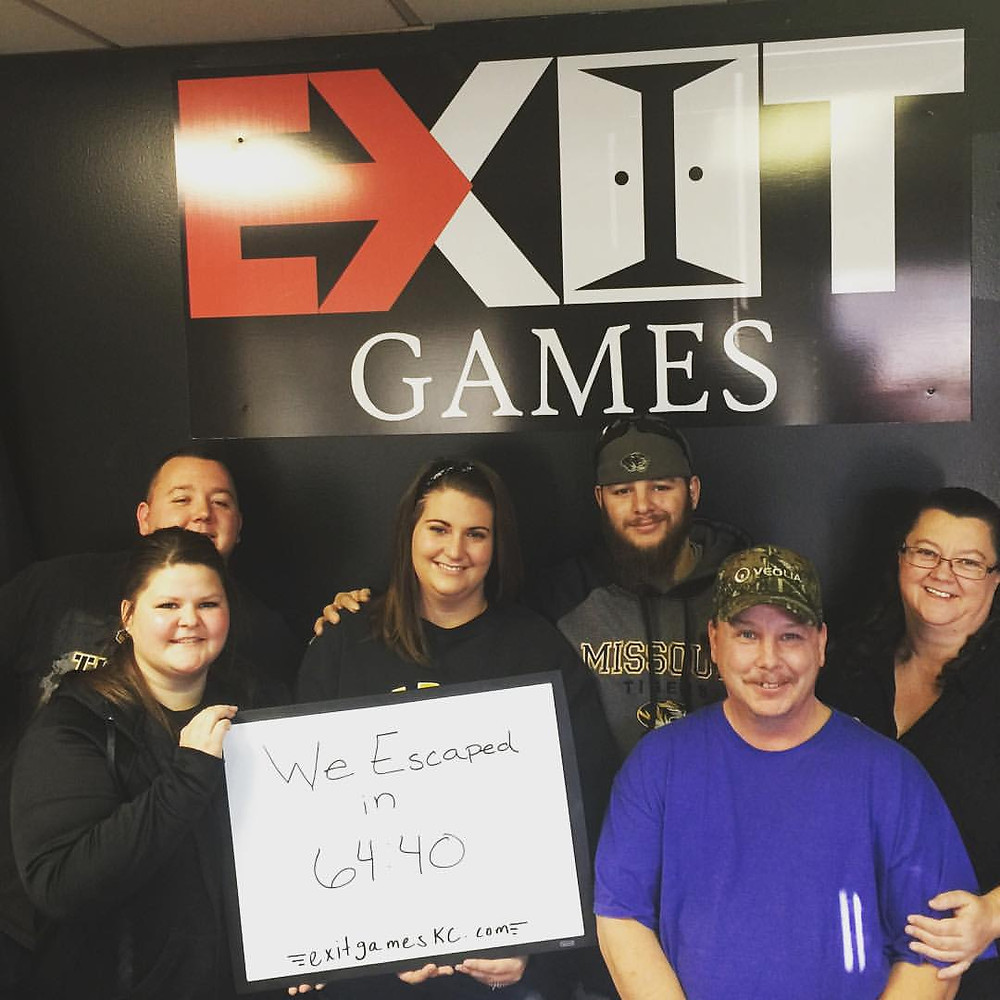 Exit Games KC - An Escape Game Experience | Group 2