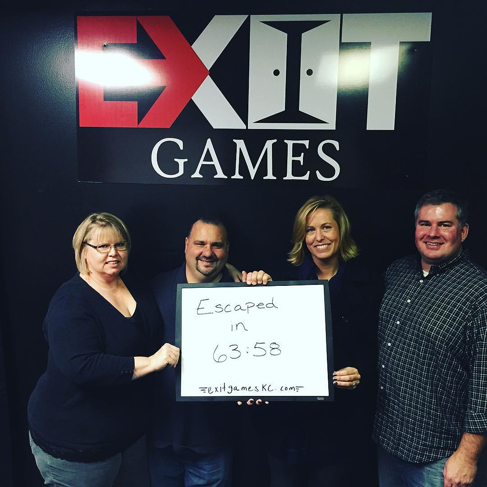 Exit Games KC - An Escape Game Experience | Group 6