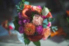 Décoration de mariage haut en couleurs