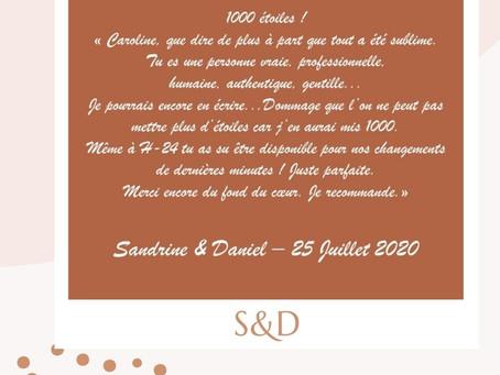 - LE MARIAGE DE S&D -