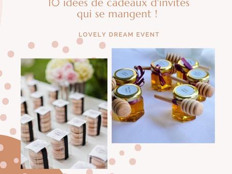 - 10 IDÉES DE CADEAUX QUI SE MANGENT -