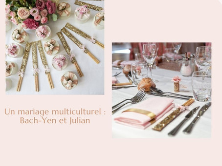 - UN MARIAGE MULTICULTUREL : BACH-YEN ET JULIAN -