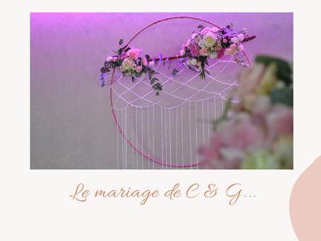 - LE MARIAGE DE C&G -