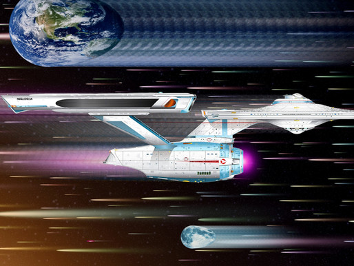 Engage Warp Drive - Powering the Final Frontier