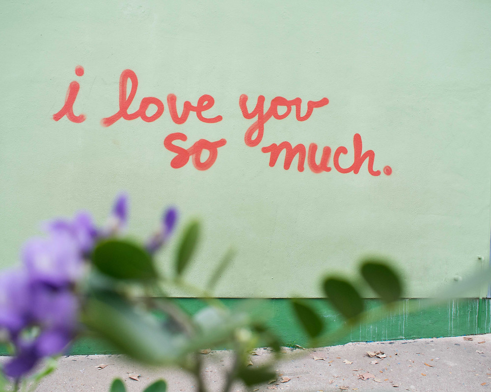 The I Love You Mural on South Congress Ave