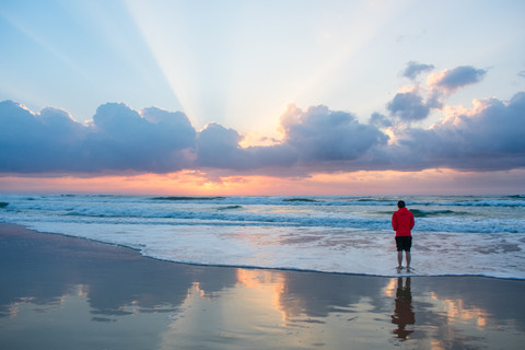 Sunrise at Fraser Island, QLD