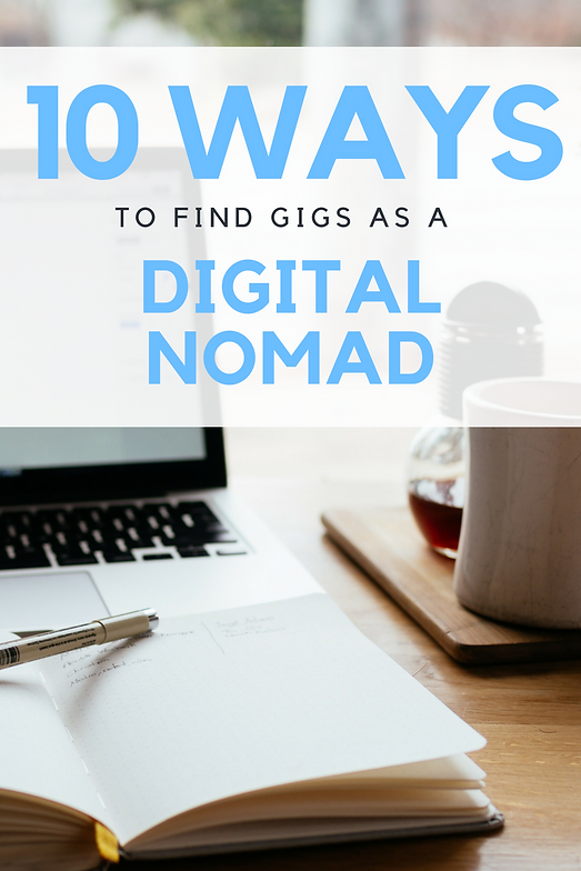 10 Ways to Find Gigs as a Digital Nomad