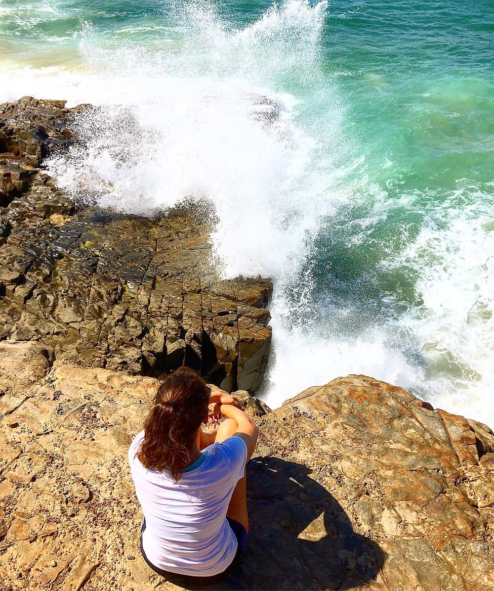 Cliffs in Noosa National Park