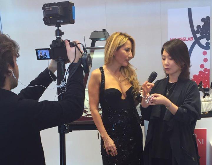 2016 이탈리아 방송인터뷰 주얼리디자인박람회