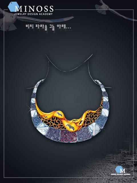 제1회 해운대 미술대전 -입 손둘이