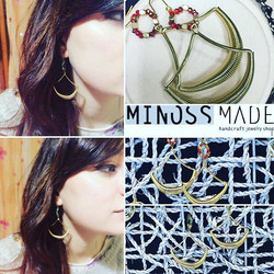 #jewelry #earring #minosslab #minossmade #jewelrydesign #earrings #귀걸이디자인 #orecchini #gioielli #bijo