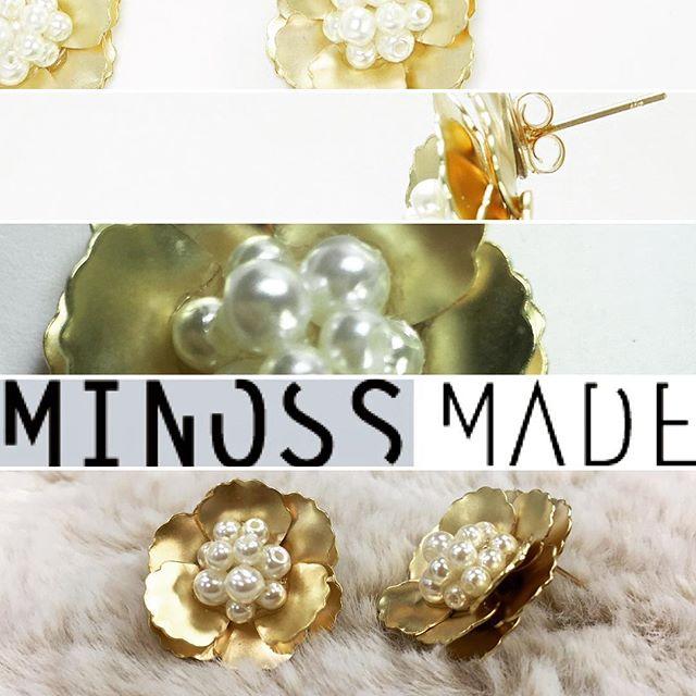 #bijoux #earrings #minossjewelry #minosslab #minossmade #미노스메이드 #미노스메이드샵 #주얼리제작 #귀걸이 #벚꽃엔딩 #꽃귀걸이 #러블
