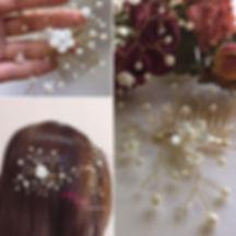 #셀프웨딩준비 #신부헤어밴드 만들기_#셀프웨딩화관 으로 자개꽃 진주 크리