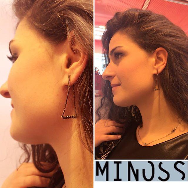 #earrings #jewelry #jewelrymaking #customjewelry #커스텀주얼리 #이어링 #귀걸이 #블랙귀걸이 #심플귀걸이 #이태리쥬얼리 #미노스메이드 #미노