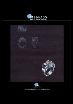 제10회 삼신 다이아몬드 국제 주얼리 디자인 공모전 입상 - 김 승 유