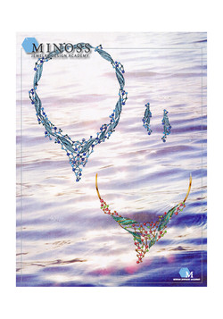 2008 국제 주얼리 디자인 공모전입 선 미노스 주얼리 아카데미 단과 포트폴리오 과정 유 화 정