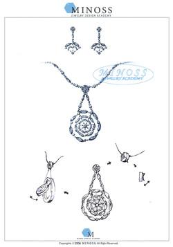 제 2회 GP IDC 다이아몬드 국제 주얼리 디자인 공모전 - 입선 김민정