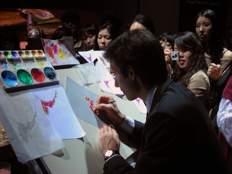 2008 반클립엔아펠 서울전시회
