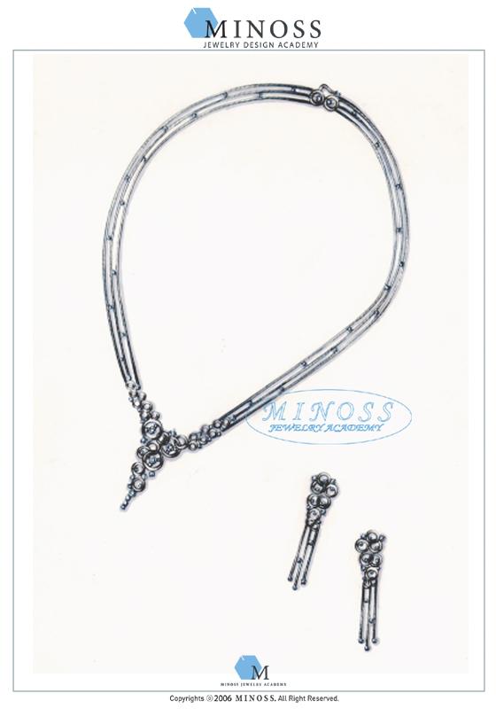제 2회 GP IDC 다이아몬드 국제 주얼리 디자인 공모전 - 입선 이명숙