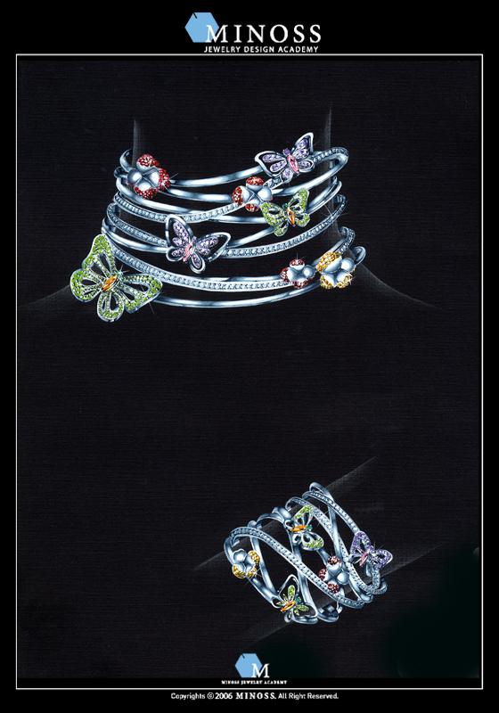 2005 국제 주얼리 디자인 공모전 입상 - 이 경 미